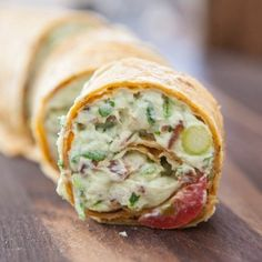 Eclectic Recipes » Avocado Cream Cheese Snack Roll-Ups