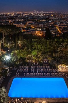 Rome Cavalieri, Waldorf Astoria Hotels and Resorts, Italy is the FHRNews #AmexFHR #luxury #hoteloftheday for Saturday, July 16.
