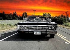 Oh Baby!/Supernatural/To Hell and Back Supernatural Baby, Supernatural Wallpaper, Winchester Supernatural, Chevrolet Impala 1967, 67 Impala, My Dream Car, Dream Cars, Estilo Geek, Sports Sedan