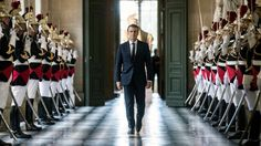 France's president promises to lead the nation on a radical new path, in a speech at Versailles.