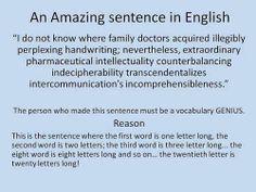 *twentieth WORD is twenty letters long... but whatever