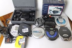 Rare Lot 7 Good Sony Discman Panasonic Citizen CD Portable Compact Disc Players #Sony Compact Disc, Gaming Computer, Citizen, Stocking Stuffers, Sony, Electronics, Best Deals, Vintage, Christmas Presents