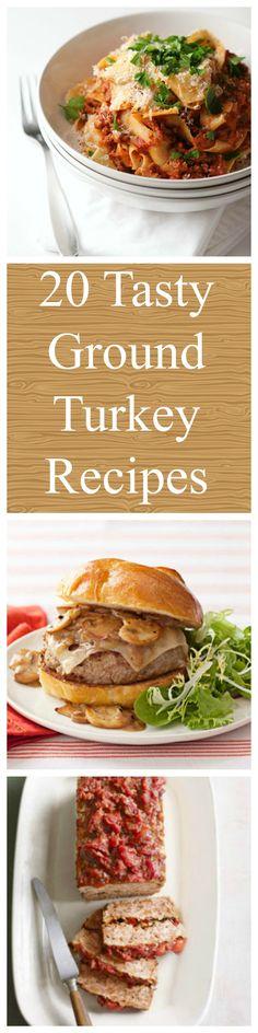 20 Tasty Ideas for Ground Turkey