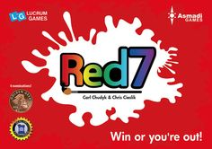 Red7 is a small but challenging card game. Players must make sure they are winning the board at the end of their turn or they are eliminated and the last player standing wins the round. Plays very fast with rounds only about 5 minutes long. The game comes with some scoring variants and advanced rules to change things up.