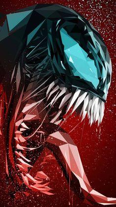 Descarga este #Wallpaper de venom gratis para tu teléfono #Android Venom Comics, Thanos Marvel, Spiderman Art, Amazing Spiderman, Marvel Fan Art, Marvel Heroes, Marvel Background, Background Images, Venom Art
