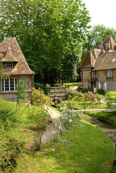 Somewhere in Normandy.  Have you ever wanted to live in a story book village?  Then let's design your cottage, it's what I do.  Are you ready?  Leo Dowell Interiors.com