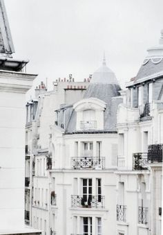 I'm in love with parisian rooftops and architecture