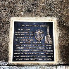 """Plaque of dedication, First Presbyterian Church, Charlotte, NC """"Who hath also sealed us, and given the earnest of the Spirit in our hearts"""" (2 Corinthians 1:22)"""