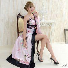 Modern Kimono, Maid Cosplay, Beautiful Asian Women, Asian Woman, Asian Beauty, Purple, Pink, Feminine, Romantic