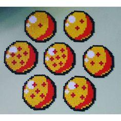 Dragon Ball hama beads by  zkloren
