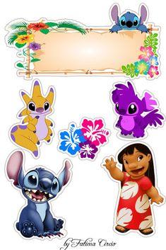 Disney Stitch, Lilo Stitch, Lilo And Stitch Cake, Lol Doll Cake, Stitch Drawing, Disney Birthday, Lol Dolls, Birthday Party Invitations, Doodles