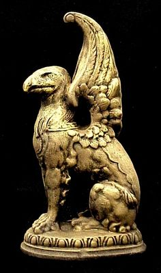 griffin mythology | Gryphon Griffin Statue Sculpture Eagle Lion Myth 15011