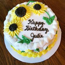 25 Exclusive Photo of Round Birthday Cakes . Round Birthday Cakes Sunflower Cake For Julie My Cake Creations Cake Sunflower Sunflower Birthday Cakes, Round Birthday Cakes, Sunflower Cakes, Birthday Cake For Mom, Simple Birthday Cakes, Happy Birthday, Food Cakes, Bakery Cakes, Cupcakes