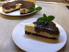 bananovo-čkoladovy cheesecake