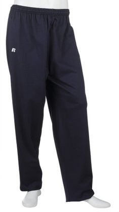 Russell Athletic Men's Cotton Performance Open Bottom Pant