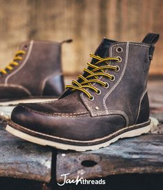 This is the year you buy a pair of boots that last for more than one winter, and these are the boots you'll buy. They're ultra-durable and utilitarian but not industrial, so you can wear 'em with joggers, jeans, or a suit and keep your feet lookin' good and feelin' dry.