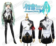 Vocaloid Project DIVA-f Miku Agitation Dress Cosplay Costume from Vocaloid