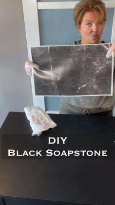 Soapstone Countertops, Laminate Countertops, Kitchen Countertops, Countertop Kit, Countertop Makeover, Granite, Painting & Drawing, Diy Painting, Diy On A Budget