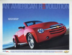 Chevrolet SSR - Vintage Car Ads