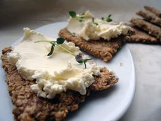 LCHF-bloggen: urtekjeks til ost