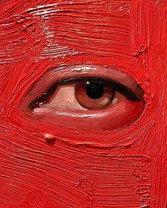 Photo by Contemporary Figurative Art on January Art Inspo, Inspiration Art, Art Sketches, Art Drawings, Art Texture, Texture Sketch, Art Du Croquis, L'art Du Portrait, Eye Painting