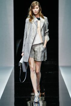 Emporio Armani Spring 2013 Ready-to-Wear Collection Slideshow on Style.com