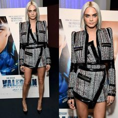 """20 Me gusta, 1 comentarios - Style&Glamour (@style_glamourarg) en Instagram: """"Cara Delevingne in Alexandre Vauthier #caradelevingne #alexandrevauthier #valerian #fashion…"""""""