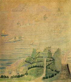 ALLEGRO Tempera on paper. 1908.