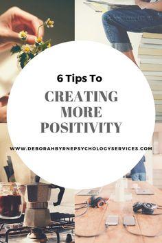 Creating More Positivity - Deborah Byrne Psychology Services Meditation Practices, Mindfulness Meditation, Negative Thinking, Psychology, Positivity, Create, Psicologia, Psych