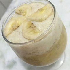 Ceia: Mingau de aveia com banana (acabou a canela ) #90diasemequilíbrio by oucaseucorpo http://ift.tt/1UckZrU