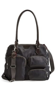 MZ Wallace 'Eliza' Nylon Satchel available at #Nordstrom