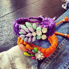 Bracciale lilla ss2014