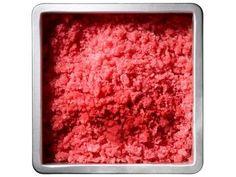 Watermelon-raspberry granita