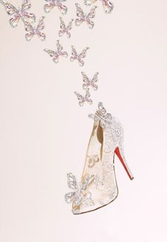 Christian Louboutin Creates Cinderella's 'Glass Slipper'