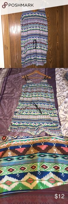 Patterned Romper Pretty patterned romper. Size XL. Worn once. Harmony + Havoc Other