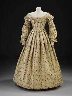 Day dress, 1837 - 1840