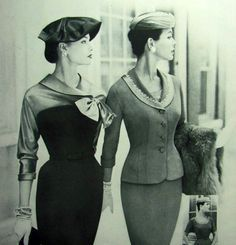 Deux femmes tout droit sorties des années 50
