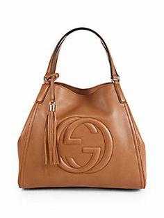 Gucci - Soho Leather Shoulder Bag