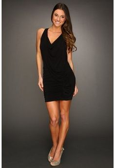 BCBG MAX AZRIAMirina Racerback Dress (Black) - Apparel $198 (available in XS-L)