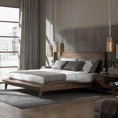 Lexington Home Brands 11 South Urbana Platform Bed - Platform Beds at Hayneedle