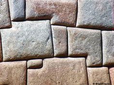 Inca stone wall, Cuzco, Peru...just flat out wrong...NO ONE on the planet can do that now.