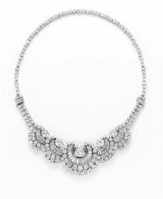 BOUCHERON  Diamond Necklace, 1950