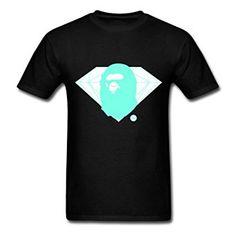 Fashion Diamond Bape Baby YEGOU Top Sale Men 39 s T Shirt Amazon com
