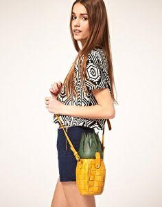 ASOS Pineapple Bag