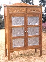 01-180 - Country Style Pie Safe Cabinet Woodworking Plan - Woodworkersworkshop®…
