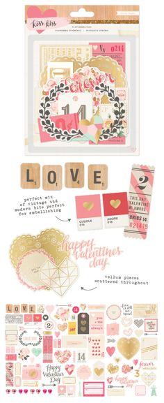 crate paper kiss kiss get at allscrapbooksteals.com
