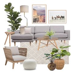 View this Interior Design Mood Board and more designs by Thediydecorator on Style Sourcebook Boho Living Room, Home And Living, Living Room Decor, Deco Design, Living Room Inspiration, Room Interior, Living Room Designs, House Design, Decoration