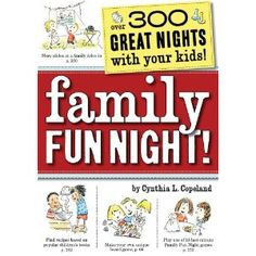 More than ever before, family time faces stiff competition from other activities that appeal to kids:  video games, text messaging, and checking in on friends through mySpace or Facebook.  Family Fun Night offers the antidote:  Tips and advice for establishing a weekly family time, as well as dozens of specific ideas for spending quality time together.  This comprehensive book suggests ways to interest teens (let each one invite a friend or allow them to play their music in the background on…