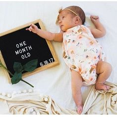 You are giving me a serious case of baby fever! Just a few Priscilla rompers left. Newborn Monthly Photos, Newborn Pictures, Baby Pictures, Baby Monthly Pictures, Photo Bb, Milestone Pictures, One Month Baby, Baby Memories, Everything Baby