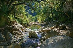 """Santa Barbara's infamous """"Seven Falls"""" hiking trail. Enjoy the natural beauty Santa Barbara has to offer."""